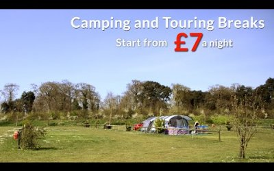 Camping and Touring Breaks at Birchington Vale Holiday Park, Kent